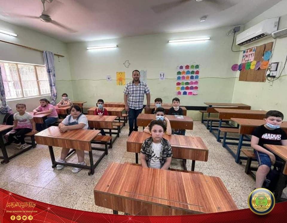 """برنامج """"التعليم المسيحي"""" يبدأ بث الدروس التعليمية للصغار من أرض البصرة الفيحاء 218915877_1854869118055093_1880422745740704361_n"""
