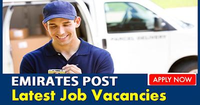 Latest Job Vacancies at Emirates Post UAE