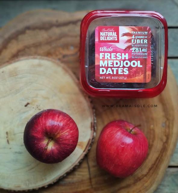 Bersiap menyambut Ramadan dengan apel washington dan kurma medjool.