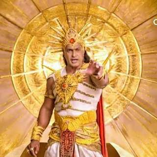Foto Salil Ankola sebagai Dewa Surya di Shani ANTV