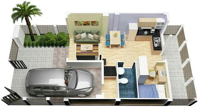 Những lưu ý về phong thủy khi thiết kế nhà phố đẹp với 2 cửa chính và phụ