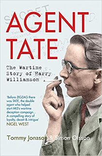 Cover - Agent TATE: The Wartime Story of Harry Williamson