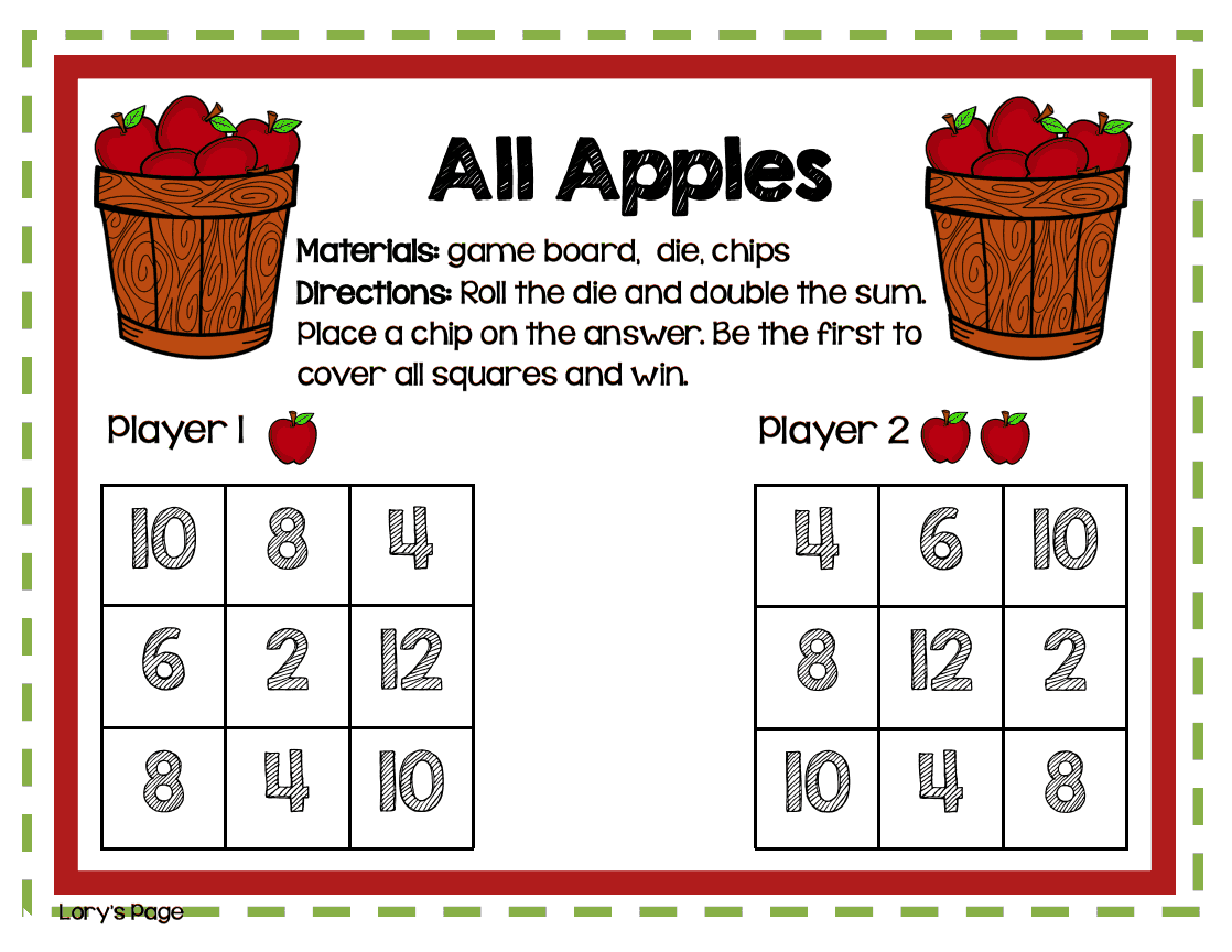 Lory S 2nd Grade Skills Johnny Appleseed