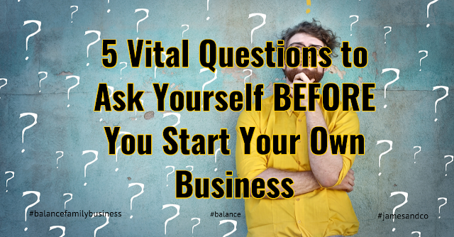 Image result for 5 Questions to ask before starting your own business