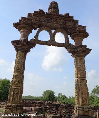 हिंडोला तोरण ग्यारसपुर विदिशा - Hindola Toran Gyaraspur Vidisha