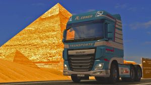A.EBNER Transporter skin for DAF Euro 6