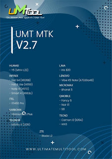 UMTv2 / UMTPro - UltimateMTK v2.7 Released