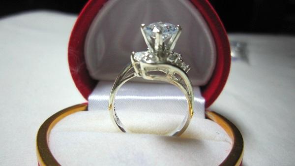 TrangSuc.top - Nhẫn đính đá trắng cao cấp MSN012 - 165.000 VNĐ - Liên hệ mua hàng: 0906846366(Mr.Giang)