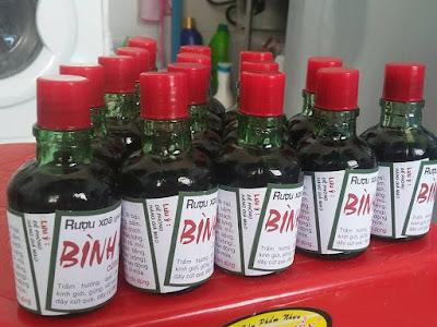Bán Rượu Xoa Bóp Gia Truyền Bình An Tại TPHCM - Hà Nội