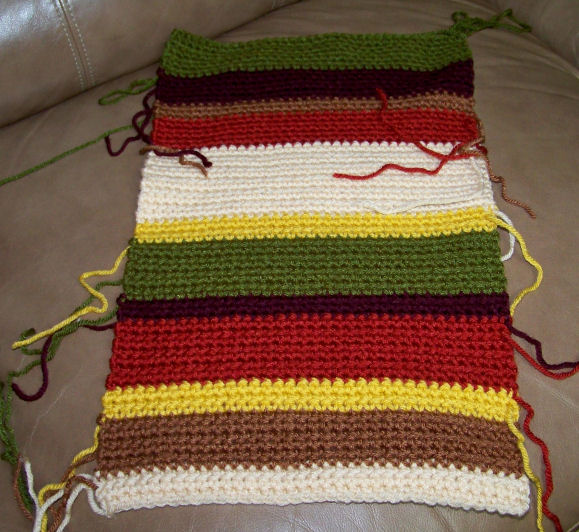 The Crochet Cabana Blog Doctor Who Scarf Begun