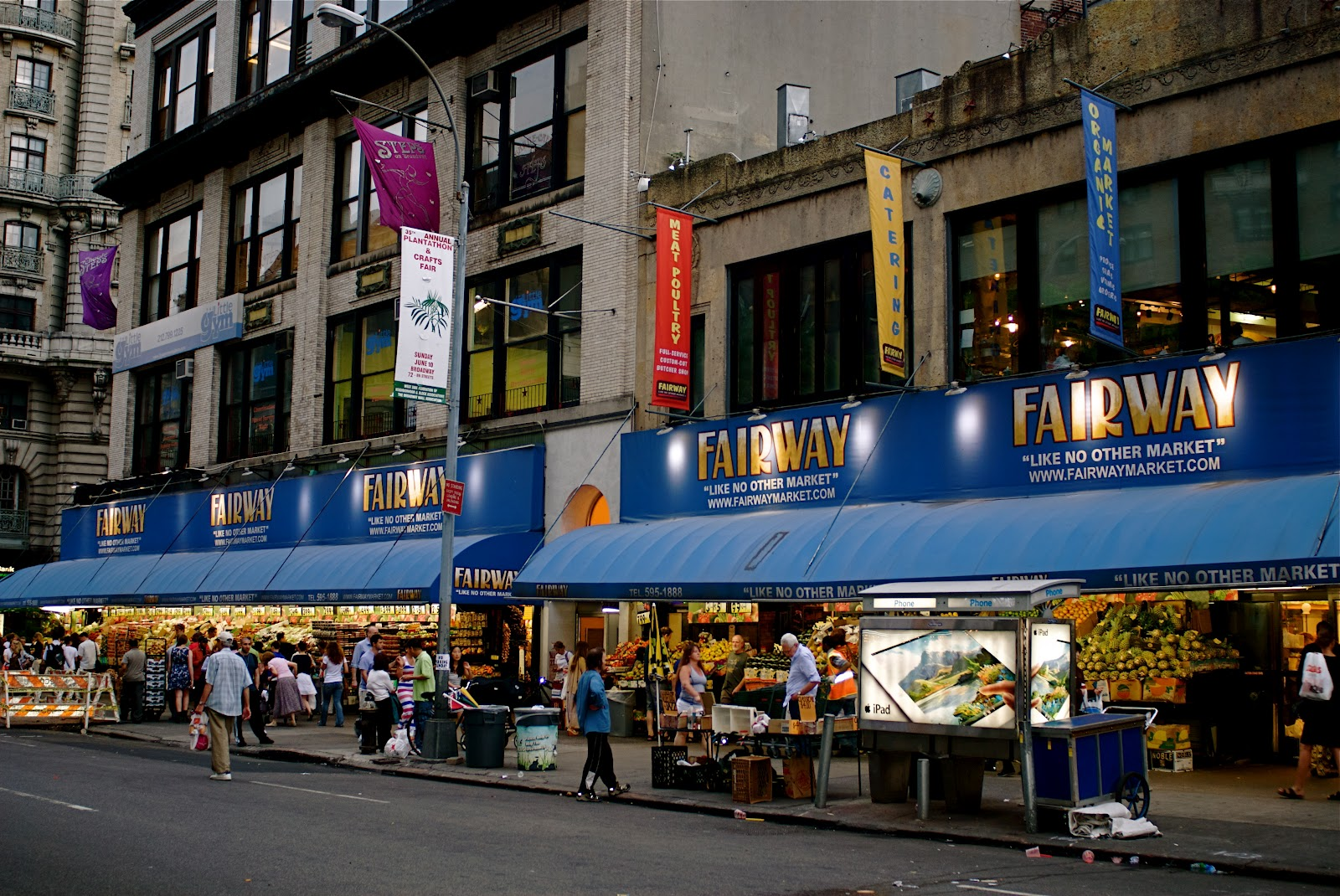 Fairway Shop Nyc Nyc Fairway Market Flagship Store On The Upper West