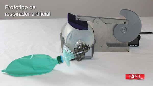 Investigadores de la USFQ logran construir y probar un prototipo de respirador artificial adaptable a la situación