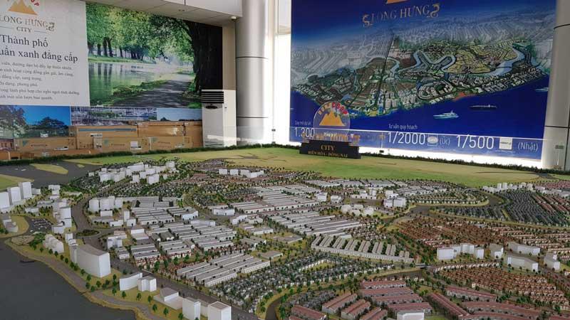 Sa Bàn dự án Long Hưng City