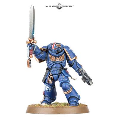 Teniente Primaris Ultramarines