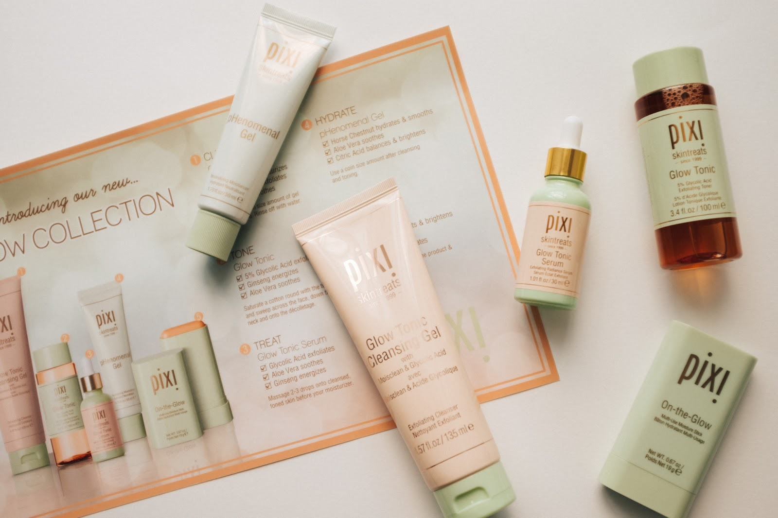 Pixi Glow Tonic Collection 2019