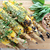 RECIPE: Grilled Corn with Walnut Pesto
