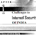 Challenges to Internal Security of India pdf Notes for UPSC Exams