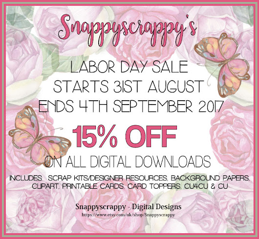 Labor Day Sale Now On!