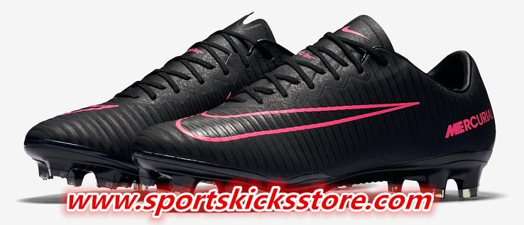 reputable site 88e96 2c51b sportskicksstore.com: Black & Pink Nike Mercurial Vapor XI ...