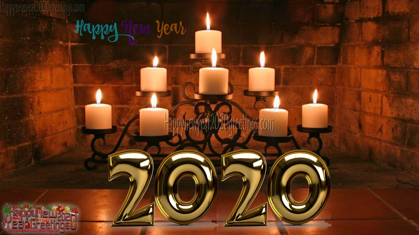 New Year 2020 3d Pictures Background Download For Desktop