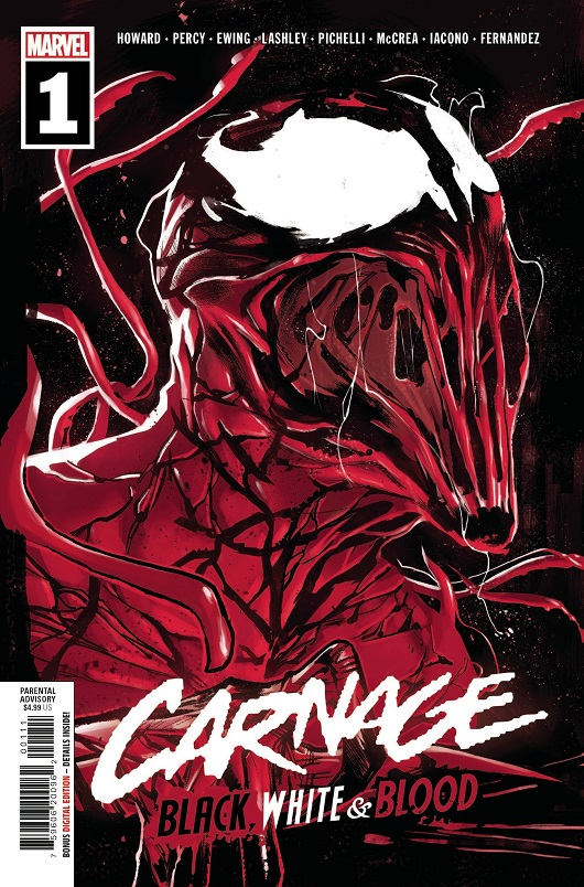 Cover of Carnage: Black White & Blood #1