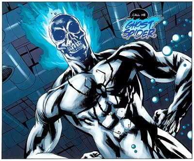 Un Spiderman alternativo se convirtió en Ghost Spider