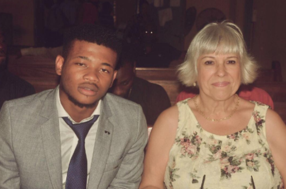 Nigerian man and his older white lover celebrate their 6th year wedding anniversary