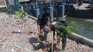 Restorasi Sempadan Sungai, Satgas Sektor 22 Sub 13 Hijaukan Sungai Citepus