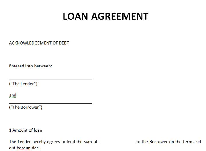 Tips Untuk Menyediakan Surat Perjanjian Pinjaman Sendiri