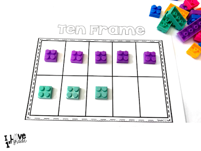 math in first grade, math in kindergarten, subitizing games