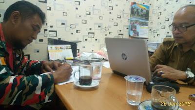 Laskar Merah Putih (LMP) Babelan Penuhi Undangan Inspektorat Kabupaten Bekasi