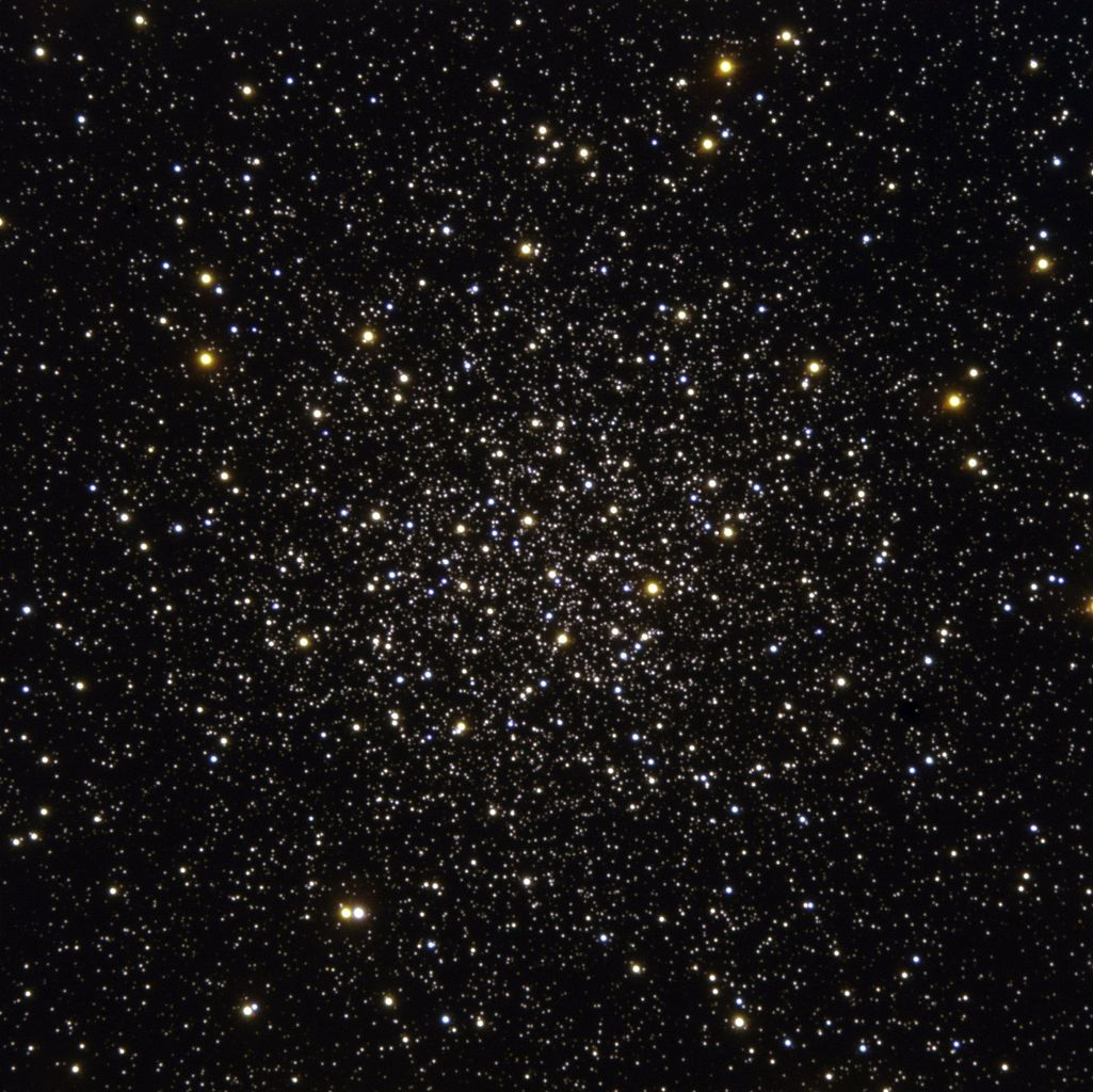Trung tâm Cụm sao cầu Messier 12. Hình ảnh: ESO.