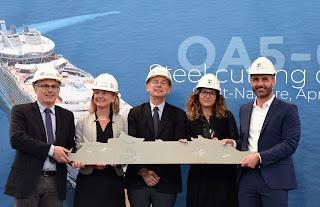 Royal Caribbean: in costruzione la quinta nave di classe Oasis