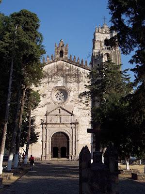 Ruta de los conventos en Morelos