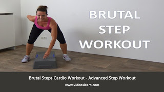 Brutal Steps Cardio Workout - Advanced Step Workout