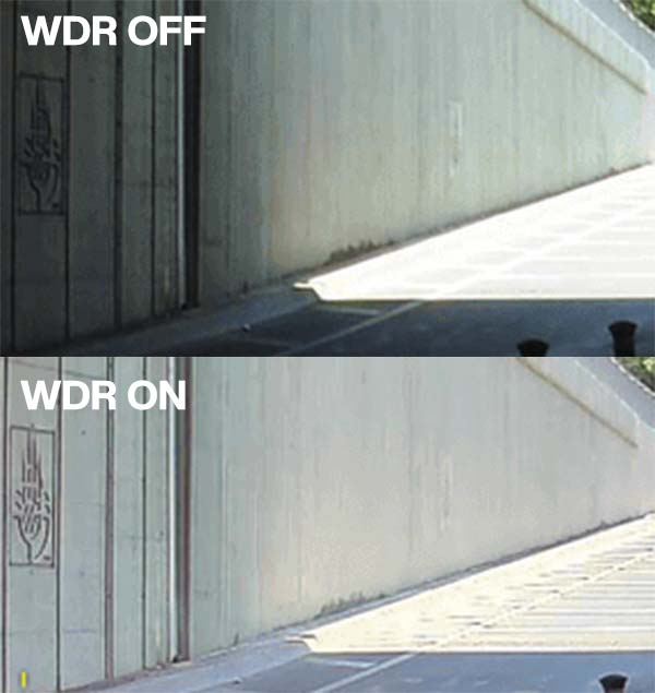 How to configure WDR feature on Uniview cameras