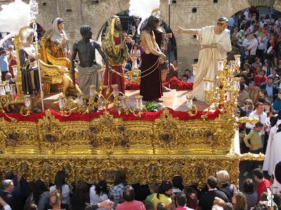 El Martes Santo de 2021 la Hermandad de San Benito de Sevilla estrenará el dorado del paso de misterio