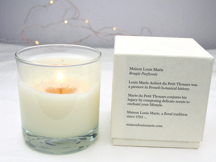 maison louis marie candle no06 neige de printemps