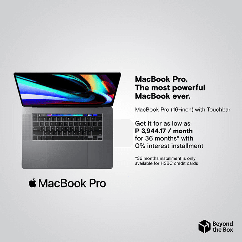 Apple MacBook Pro 16 now available at Beyond the Box