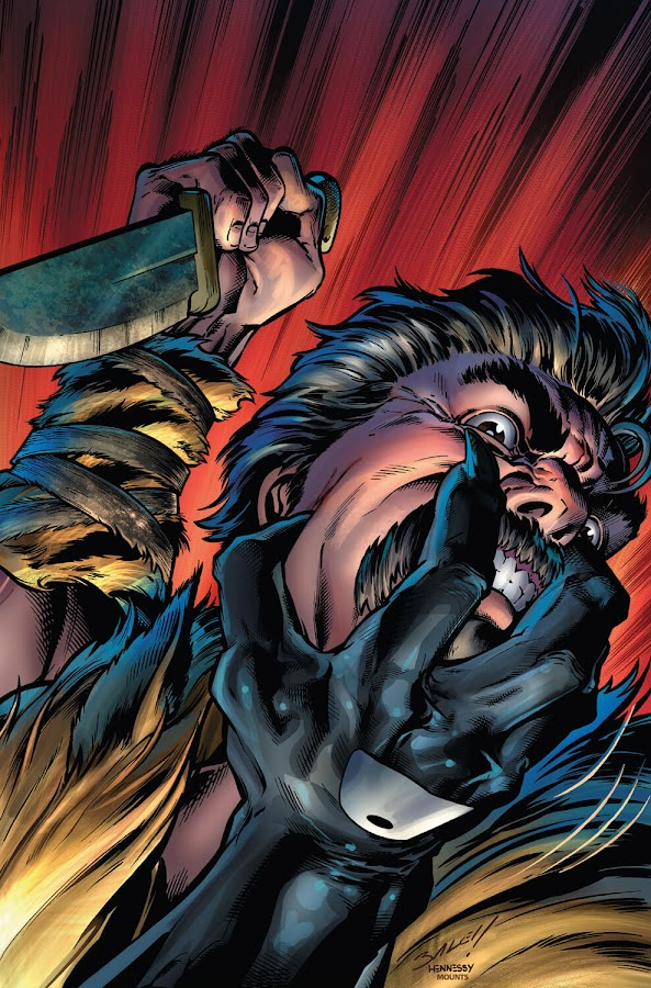 kraven the hunter vs venom sergei kravinoff eddie brock blood in the water marvel comics 2018 mike costa mark bagley paulo siqueira