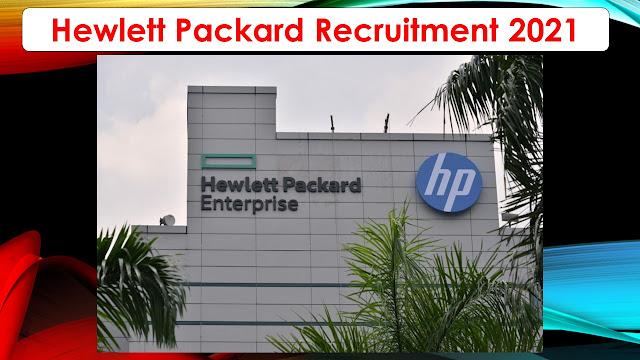 HP Recruitment 2021 – Various IT Developer Post – Apply online