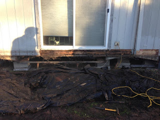Delicieux Recently Fixed Up A Little (or A Lot) Of Dry Rot And Did A Deck Build For  The Client