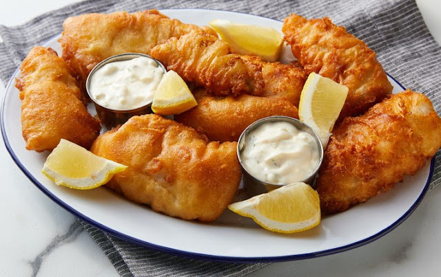 Beer Battered Fish #appetizers #dinner