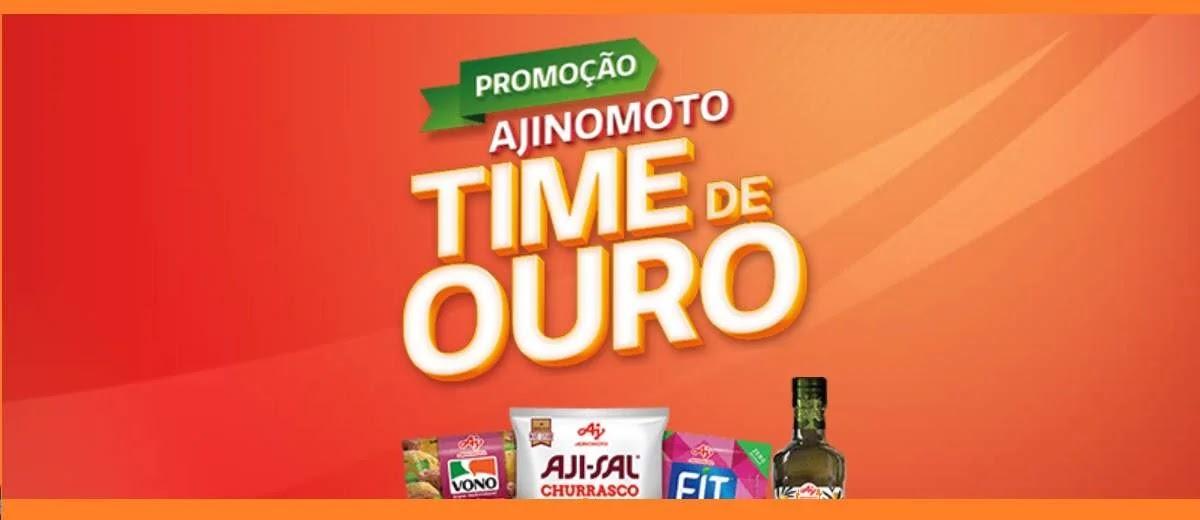 Cadastrar Promoção Time de Ouro Ajinomoto Produtos