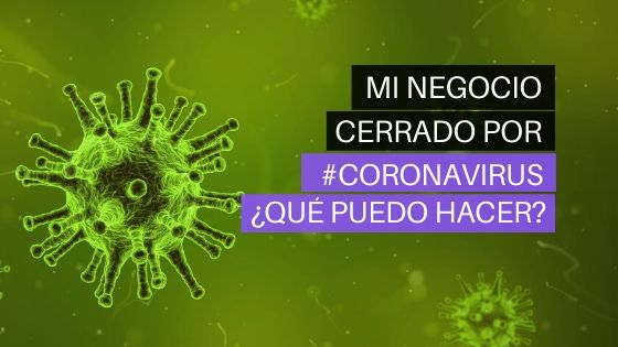 negocios cerrados por coronavirus