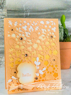 Learn my tips & tricks on creating an easy monochromatic card using just a few supplies.