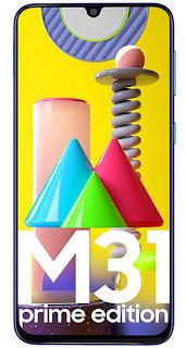 Samsung Galaxy M31 Prime Edition (Ocean Blue, 6GB RAM, 128GB Storage)