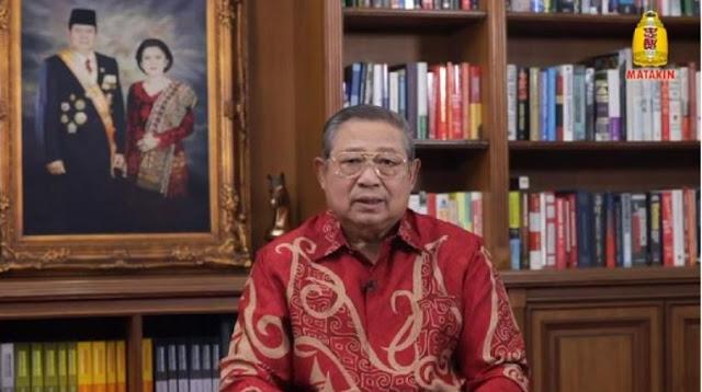 SBY Bicara Keserakahan-Bencana dan Ajak Bertobat