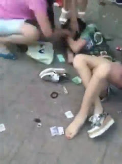 Wife and her friends beat up young woman caught cheating
