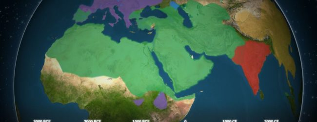 Animated Map Shows How Five of the Biggest Religions Spread Across the World